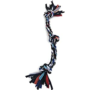 PROSPERITY DEVINE Colorful Rope Dog Toy 15″ Click on image for further info.
