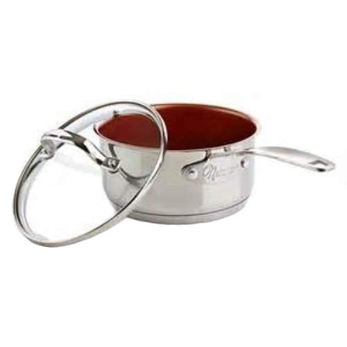 Nuwave 1 5 Quart Stainless Steel Nonstick Saucepan With Lid