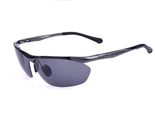 Sol polarizadas Gafas Gun Gafas al de nbsp;Deportes Mjia sunglasses color Deportivas Hombre Playa Aire natación de Plata Libre magnesio Aluminio Espejos de de xWxYSn