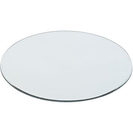 30cm Round Mirror Plate - Box of 6: Amazon.co.uk: Kitchen & Home