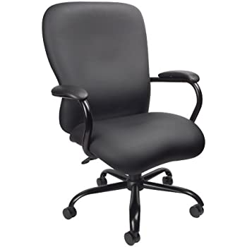 boss office products b990 cp heavy duty caressoftplus chair with 350 lbs weight. Black Bedroom Furniture Sets. Home Design Ideas
