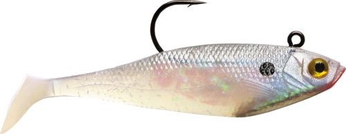 Storm WildEye Swim Shad 02 (Pearl, Size- 2), Outdoor Stuffs