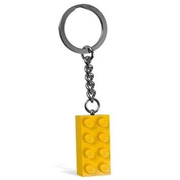 LEGO Creator: Amarillo Ladrillo 2 x 4 Llavero: Amazon.es ...