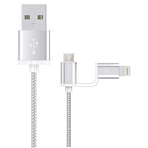 eKlasse EKLED2IN101YE Micro USB  Silver