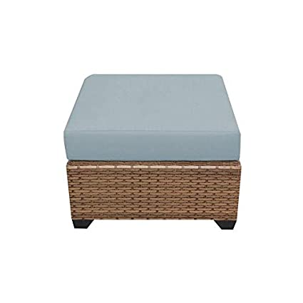 Amazon.com: TK Classics Laguna Outdoor Wicker Patio otomano ...