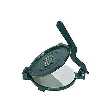 Esspy™ DEEP Deluxe Heavy Quality Iron(CI Casting) Bid Puri Maker Puri Press Kitchen Press Chapati Machine Roti Maker(Size-Big) (DEEP-Big, 3.7) 9