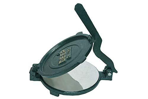 Esspy™ DEEP Deluxe Heavy Quality Iron(CI Casting) Bid Puri Maker Puri Press Kitchen Press Chapati Machine Roti Maker(Size-Big) (DEEP-Big, 3.7) 4