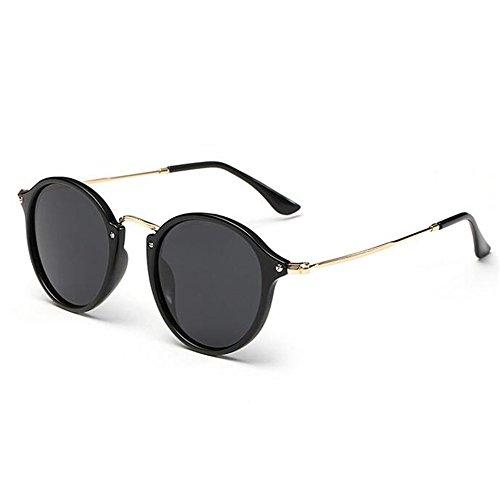 Next-Fri 2016 European and American Men and Women Drivers Polarized Retro Sunglasses(C1)