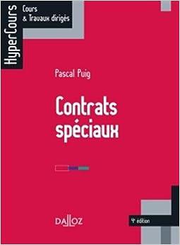 Contrats spéciaux - 4e édition: HyperCours