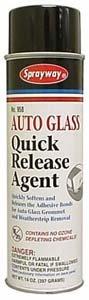 Auto Glass Quick Release Agent, 14 oz - Sprayway SW958