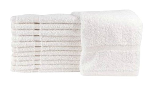 American Terry Mills 100% Cotton Economy Salon Towels Gym Towels Hand Towel, Maximum Softness, Absorbency & Durability, (15