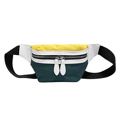 (2DXuixsh Lightweight Bag Shoulder Messenger Crossbody Fashion Canvas Chest Bags Adjustable Strap Cyclist,Hiking Sports Yellow)