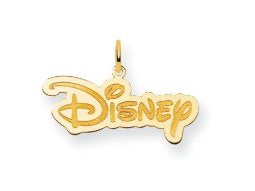 Disney Disney Logo Charm Gold Plated Silver