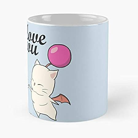 I Love You More Than Kupo Nuts Classic Mug 11 Oz Coffee Funny Sophisticated Design Great Gifts White Situen Amazon Co Uk Kitchen Home