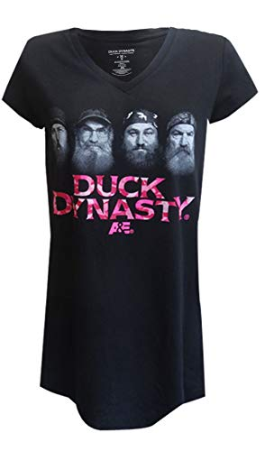 Duck Dynasty Women (MJC Women's Duck Dynasty Cast Night Shirt (Large))