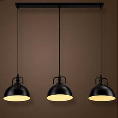 Multi Pendants Island Light (Industrial Nautical Style Single Mini Three Lights Island Light Pendant Light - LITFAD 30