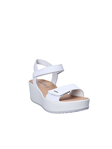 Co Sandals White 1176 Women IGI Wedge UzfBAAqH