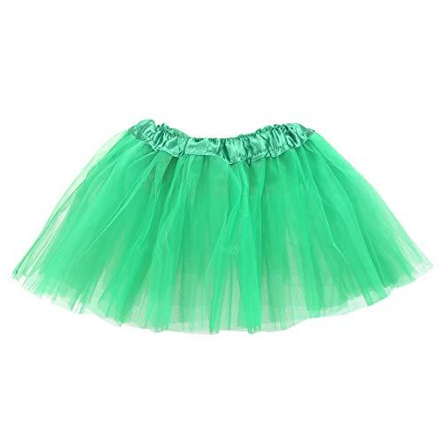 belababy Girl Skirts 3 Layers Organza Baby Tutu, 2-8, Green -