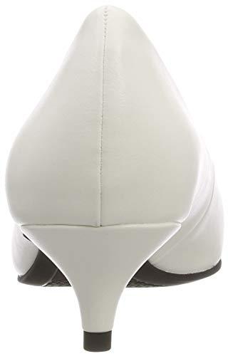 Bianco 21 22307 white Matt 108 Con Tacco Scarpe Donna Tamaris gqY45xg