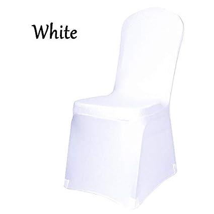 Brilliant Amazon Com Us Warehouse Wholesale White Polyester Elastic Download Free Architecture Designs Scobabritishbridgeorg