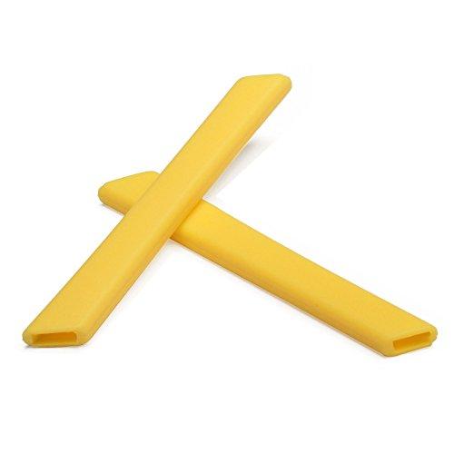 Replacement Earsocks for Oakley Jawbone/Split Jacket/Racing Jacket Sunglasses (Yellow, - Sunglasses Jacket Yellow