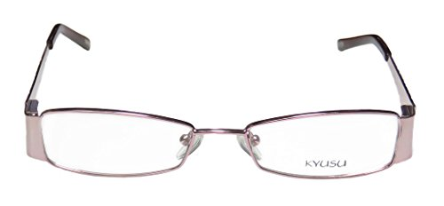 kyusu-1145-womens-ladies-designer-full-rim-eyeglasses-eyeglass-frame-50-16-135-shiny-pink-blush-pome