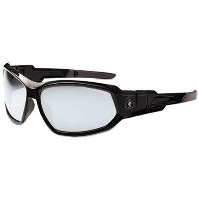 Skullerz Loki Safety Glasses/Goggles, Black Frame/In/Outdoor Lens,Nylon/Polycarb