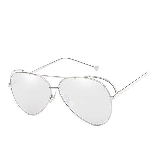 macho sol Piloto personalidad color película y D de sol metal hembra Aoligei de de Chao shing hombre gafas gafas de 1EZnxSw