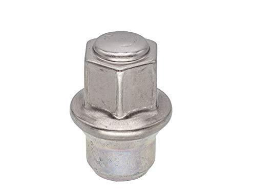 Box of 100 Gorilla Automotive 91148 Acorn Bulge Lug Nuts 14-Millimeter by 1.50 Thread Size