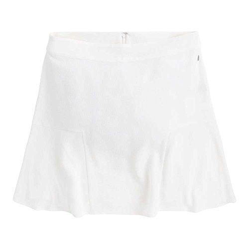 L Jeans Mousse Talla Vuelo Pepe Blanco Color Falda 808 Rene Pl900703 TPqnv81
