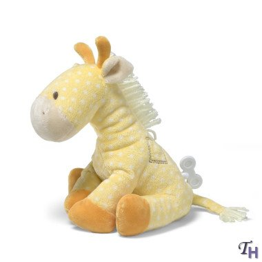 Gund Lolly Musical Giraffe Waggie Keywind 8 Plush from Gund