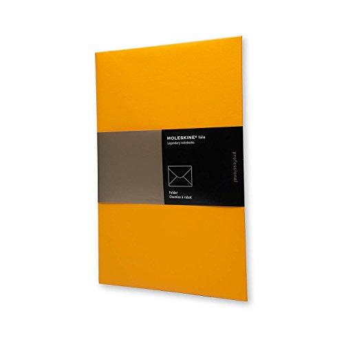 (Moleskine Folio Professional Folders, A4, Orange (13 x 9))