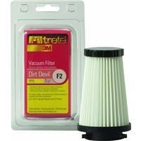 3M Filtrete Dirt Devil F2 HEPA Vacuum Filter - 1 filter(Colors may (Platinum Hepa Air Filter)