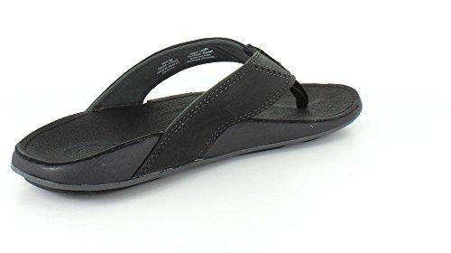 Olukai Nui Sandal–hombre Onyx/Onyx
