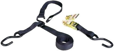 Ratchet Tie Down 8 Triple Hook /& Soft Hook