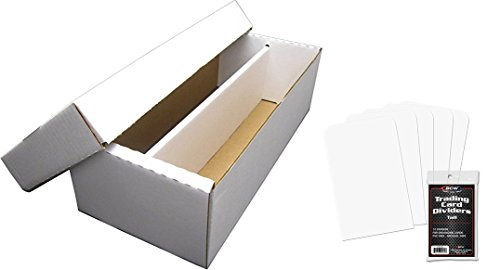 10 BCW BX-400 350 Trading Card Capacity Cardboard Storage Boxes Game CCG NEW
