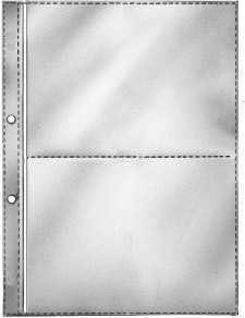 100 Milan Prospekthüllen A5 80my genarbt Klarsichthüllen Sichthüllen Hüllen