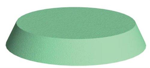 Coated Head/Neck Patient Positioning Sponge, Circular Head, Base: 9'' diameter x 1-1/2''; Top: 7'' diameter
