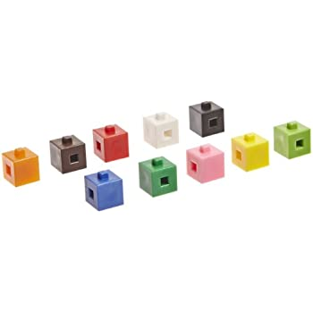 School Specialty Interlocking Centimeter Cubes - 1000 Pieces