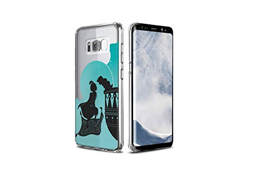 Koldan Aladdin Samsung Case Disney Silicone Case Samsung A30 A50 Clear Cover S10 5G S10e Samsung Note 8 Note 9 Princess Jasmine S8 S9 S10 S10 Plus S9 Plus S8 Plus M30 M20 M10 A9 A8 Plus A7 md65