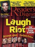 Read Online Reader's Digest Magazine September 2007 (Laugh Riot, Our Funniest Issue Ever; 50 Great Jokes; Cartoon Extra; Ben Stiller, Why Funny Runs In His Family...much more, Volume 1) PDF