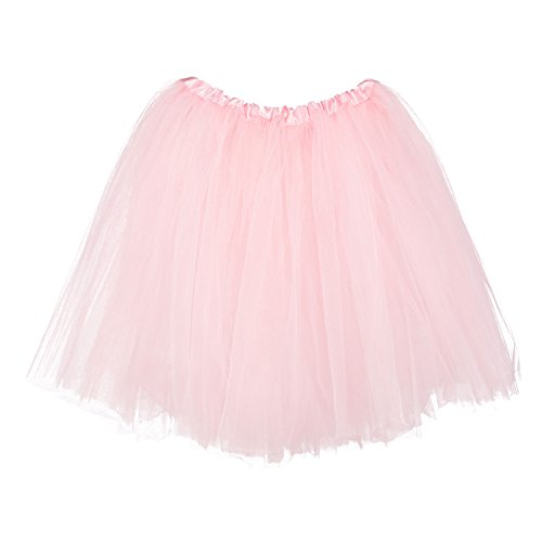My Lello Big Girls Tutu 3-Layer Ballerina (4T-10yr) Light Pink