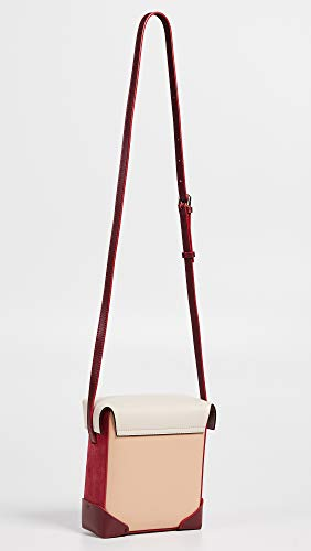 Beige Light Red Pristine Poudre Bag Women's MANU Atelier Box Mini WFzgaPa