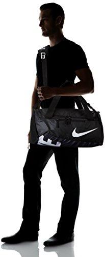 Amazon.com  Nike Alpha Adapt Crossbody Medium Duffel Bag Black Black White   Sports   Outdoors 7476c990e776