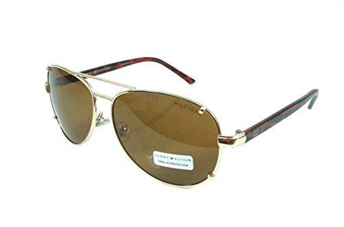 Tommy Hilfiger Bradshaw WM OL06 Aviator - Aviator Mens Hilfiger Sunglasses Tommy
