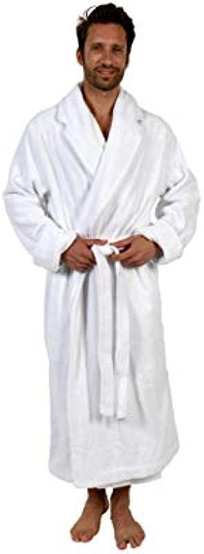 [Anpassbar] Personalisierter Graben-Bademantel für Erwachsene Erwachsene 420gr/m² M/L und L/XL 100% Baumwolle - kostenlose Stickerei in Allen Sprachen - bestickter Morgenmantel 2 Taschen und Gürtel: Odzież
