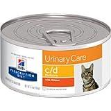 Hill's Prescription Diet c/d Multicare with Chicken Feline 5.5oz 24 cans