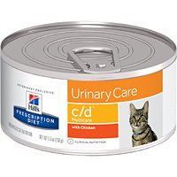 Hill's Prescription Diet c/d Multicare with Chicken Feline 5.5oz 24 cans by Hill's Pet Nutrition