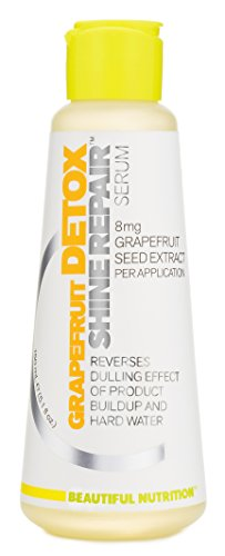 Beautiful Nutrition Grapefruit Detox Shine Repair Serum, 5.1 Fluid Ounce (Detox Serum)