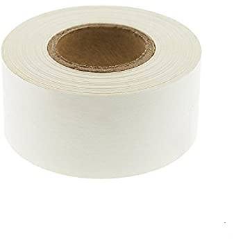 "1"" White Color-Code, Clean-Remove Labeling Tape, Write On Surface 
